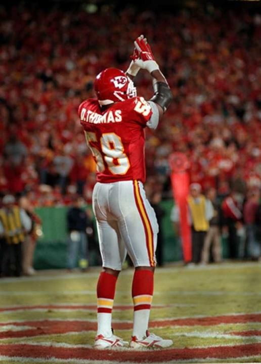 Derrick Thomas Safety i REMEBER THIS....I WAS THERE.........GOOD TIMES!