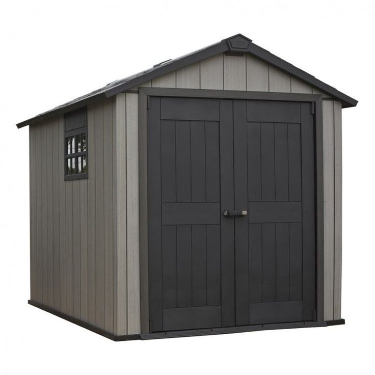 Garden House Shed Storage Outdoors Patio Weather Resistant Modern Skylight Home #GardenHouseShed