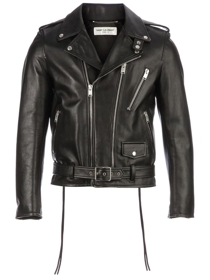 Love the Saint Laurent biker jacket on Wantering | Winter Trends for Men | Biker Jackets | mens black leather biker jacket | menswear | mens style | mens fashion |  wantering http://www.wantering.com/mens-clothing-item/biker-jacket/ad83F/