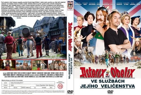 COVERS.BOX.SK ::: Asterix And Obelix: God Save Britannia (2012) - high quality DVD / Blueray / Movie