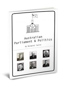 Australian Parliament & Politics for Kids will help your child discover aspects Australia's political heritage, democracy & parliamentary processes. Grades 5-8.