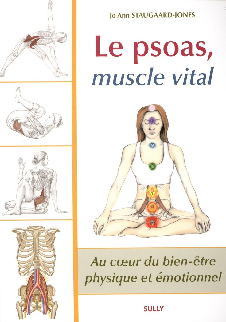 Amazon.fr - Le psoas, muscle vital - Jo Ann Staugaard-Jones - Livres