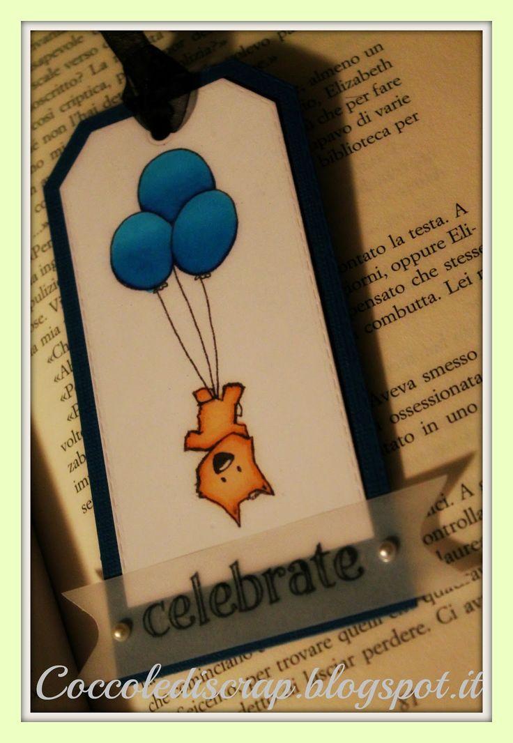 Storie di timbri, carta e...: Come Nasce un segnalibro?Born as a bookmark?