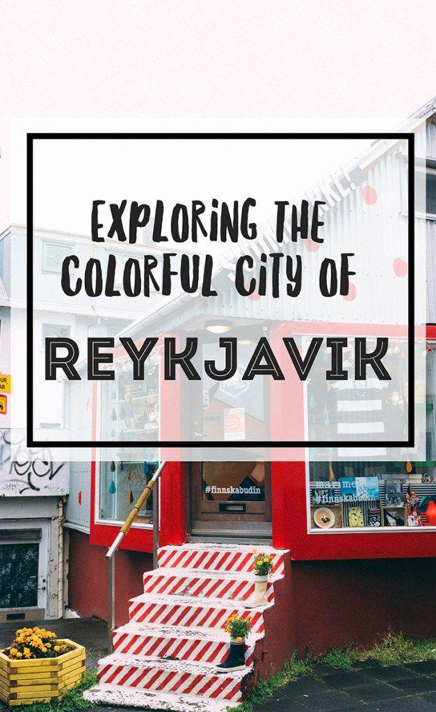 Explore the city of Reykjavik, Iceland