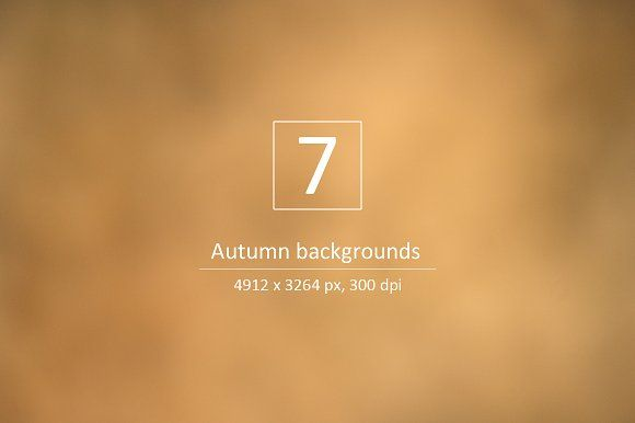 Autumn backgrounds - Nature colors by Zibloidix on @creativemarket