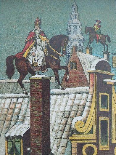 Sint Nikolaas en zijn knecht ca. ? / Heruitgave IJsselstein Nicolaasstad 2002