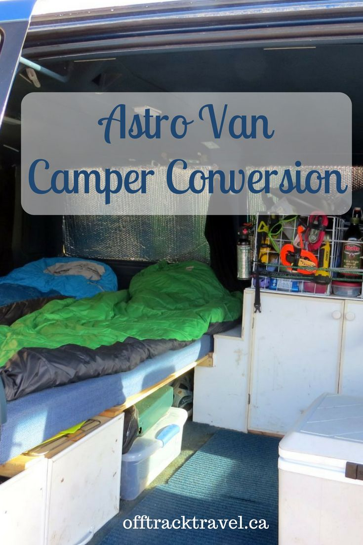 Astro Van Camper Conversion