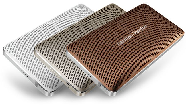 Bluetooth speakers that are the size of a smartphone! This is the Harman Kardon Esquire Mini and we're in love.