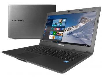 "Notebook Compaq Presario CQ-23 Intel Dual Core - 4GB 500GB LED 14"" Windows 10"