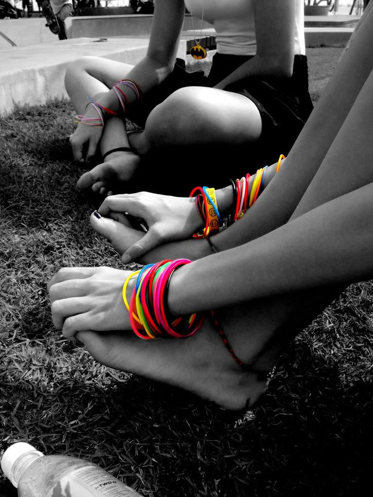 Color splash black and white photography colorful rainbow