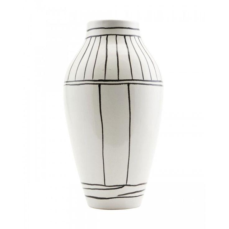 Váza OUTLINE fehér - 14x26