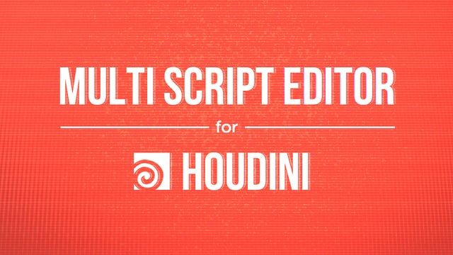 Multi Script Editor. Houdini features How to install MSE: https://vimeo.com/124841594 Download MSE: http://www.paulwinex.ru/multi-script-editor-v2-0/ Music: https://soundcloud.com/fm84/max