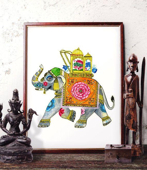 25 Best Painted Indian Elephant Ideas On Pinterest Indian Elephant Art El