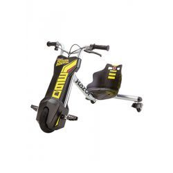 Razor PowerRider 360, 299,95€. Matka tulevaisuuteen - tällä kolmipyöräisellä ajopelillä driftailet sekä nautit ajosta nappia painamalla! Tällä sähkökäyttöisellä skootterilla driftailet ja ajat turvallisesti. Nopeus on maksimisssaan 13km/h. Ilmainen toimitus! #skootteri #sähkökäyttöinenskootteri