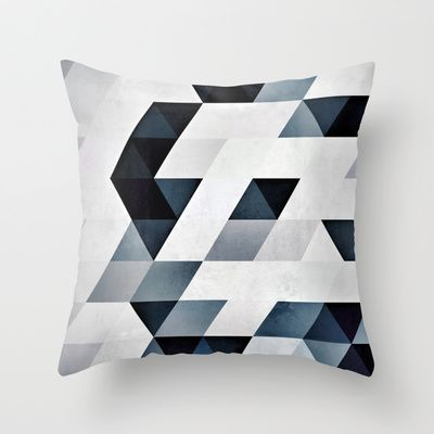 yntygryl Throw Pillow by Spires - $20.00