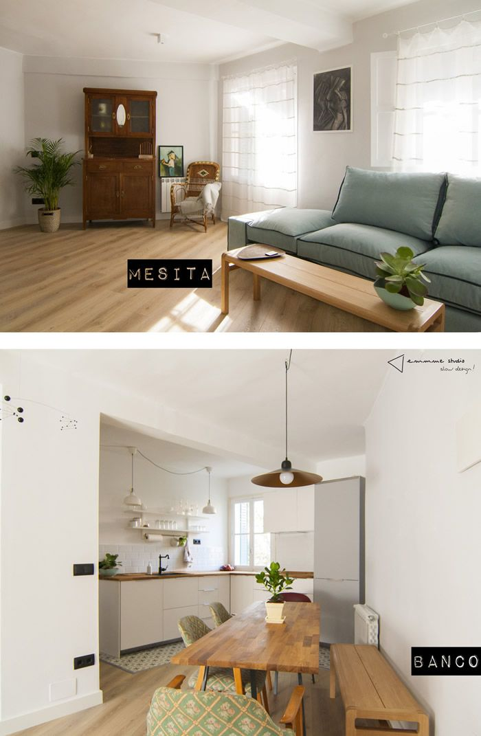 104 best ideas para el hogar images on pinterest for the for Cocina comedor integrados
