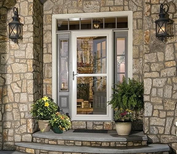Image Result For Larson Tradewinds White Mid View Aluminum Storm