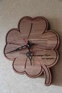 Часы от 3D Столярка г.Орел