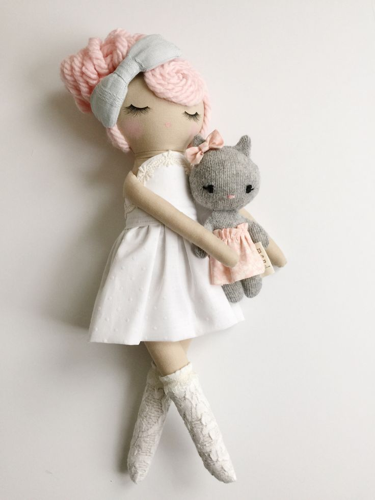 Mend by Ruby Grace | her dolls are these absolutely stunning little friends