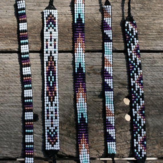 VENTE / / perle de métier à tisser amitié Bracelet Collection