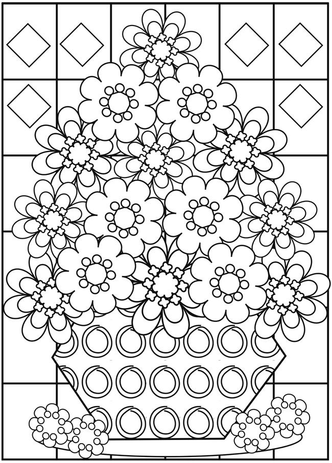 Fabulous Flowers 3 From Dover Publications