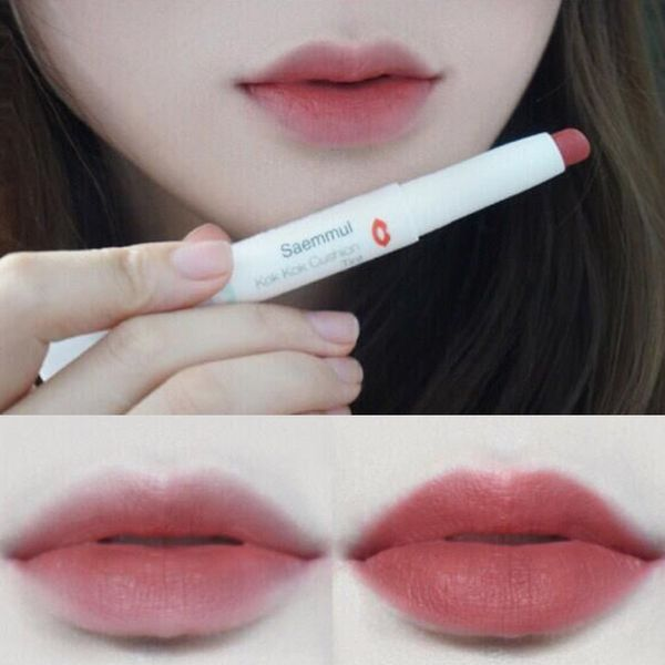 Natural ombre lips
