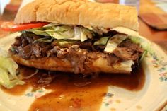 New Orleans Hot Roast Beef Po-Boy and Mardi Gras ~ Cajun Chef Ryan - another one to try.....