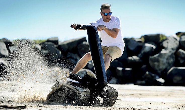 DTV Shredder, le Segway tout-terrain complètement badass - http://www.leshommesmodernes.com/dtv-shredder/