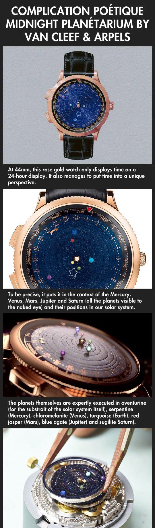 Van Cleef & Arpels midnight planetarium | Watches ...