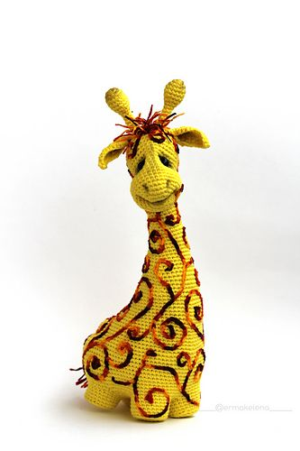 Sunny giraffe by Ermak Elena