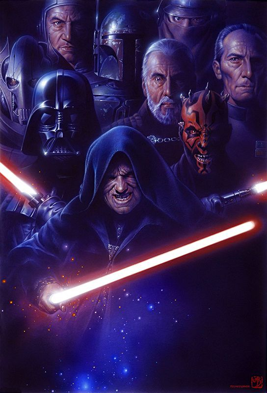 Star Wars art by Tsuneo Sanda