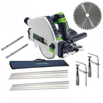 Festool  Plunge Saw TS55-R (Package Deal)
