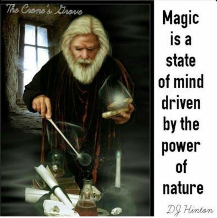 Male witch, Wicca, Magick