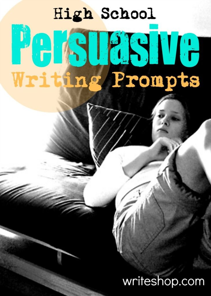 middle school persuasive writing prompts