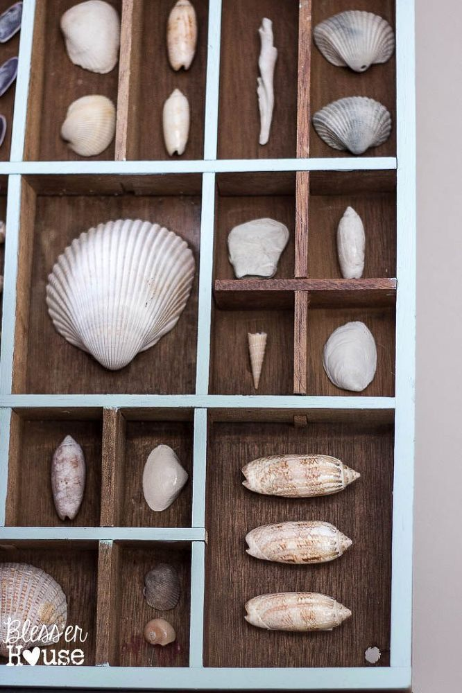 Capture Your Summer Beach Memories With This Shadow Box Idea