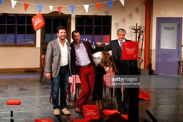Photo d'actualité : Actors Philippe Lellouche , Christian Vadim,...