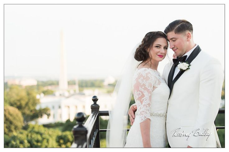 Hay Adams Weddings DC Overlooking The White House