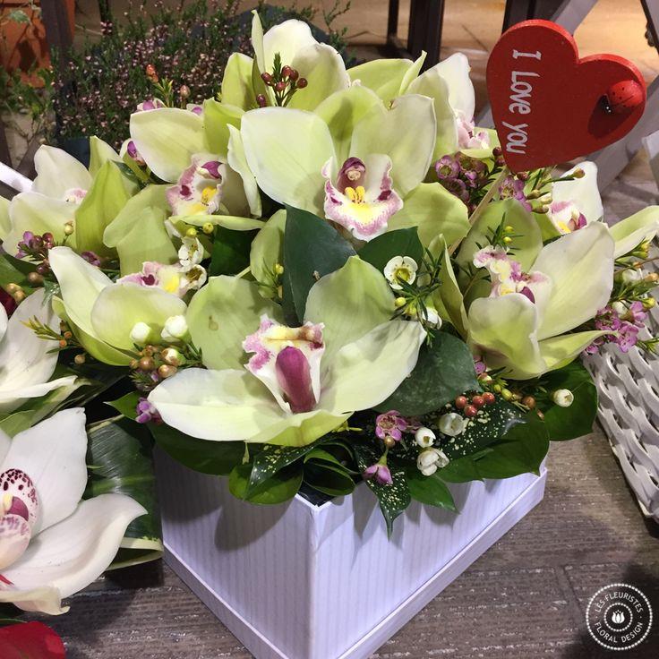 Ανθοσυνθέσεις για την γιορτή του Αγίου Βαλεντίνου #valentinesday #λουλουδια #αγαπη #lesfleuristes #iloveyou