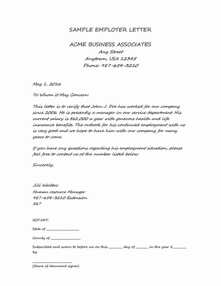 46++ Proof of income letter from employer template trends