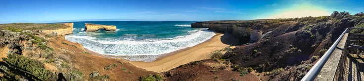 London Bridge Panorama, Great Ocean Road, Victoria, AustraliaPhoto Pathway | Photo Pathway