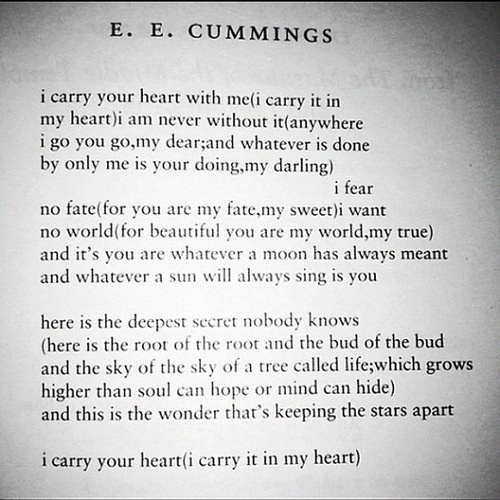 E. E. Cummings Poetry: American Poets Analysis - Essay