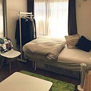 Bedroom,無印良品,一人暮らし,北欧,賃貸,kiviに関連する他の写真