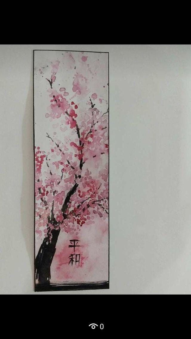 Pin By Svavs On Malverk Cherry Blossom Painting Cherry
