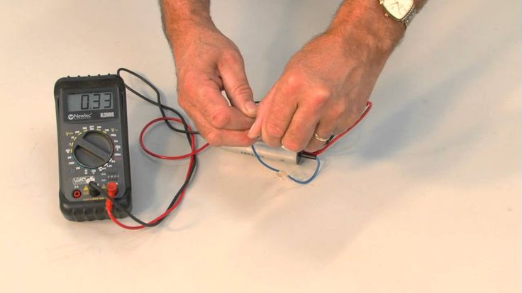 http://www.routledge.com/u/electrical/ Unless there has been physical damage it is difficult if not impossible to tell whether a capacitor is serviceable or ...