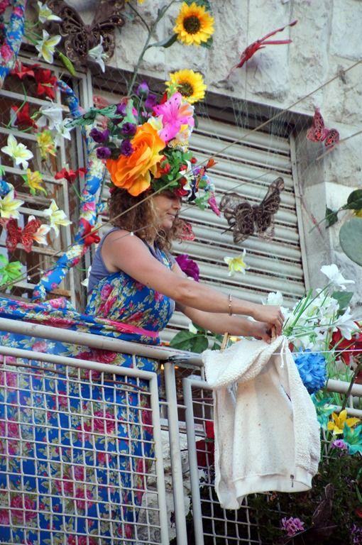 Machane Yehuda Market Festival Baal Basta . Jerusalem