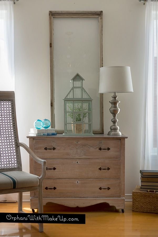 How To Whitewash Furniture