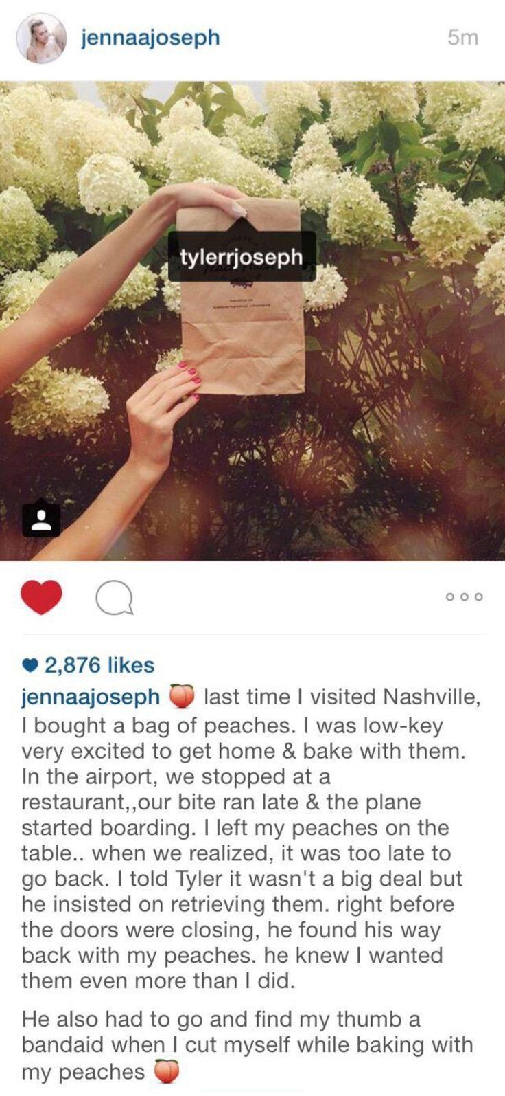 <3 tyler joseph's wife jenna's instagram ✧
