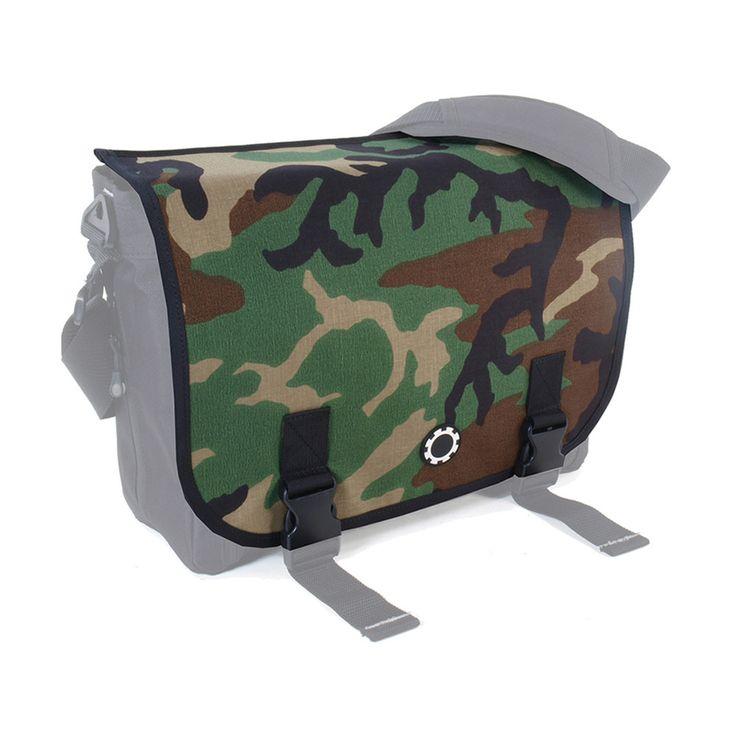 Interchangeable Messenger Flap - Camouflage