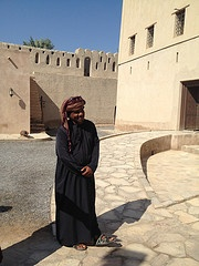 One of the beautiful and smiley omani people