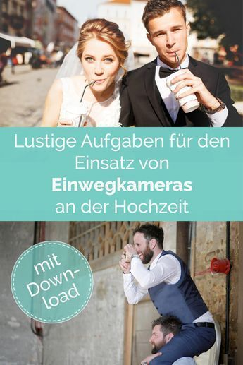 So you get the mood of your wedding with disposable cameras in motion